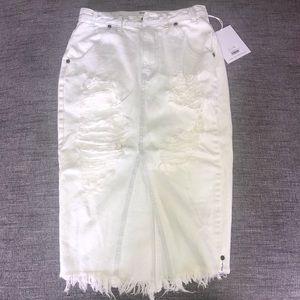 One Teaspoon Le Creme Cadillac skirt  Size 27